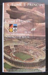 Poštovní známka Svatý Tomáš 1988 Výroèí založení Berlín Mi# Block 180