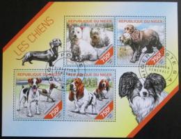 Poštovní známky Niger 2014 Psi Mi# 2855-58
