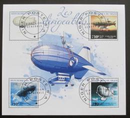 Poštovní známky Niger 2014 Vzducholodì Mi# 2977-80 Kat 12€