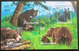 Poštovní známky Niger 2015 Medvìdi Mi# 3485-88