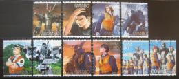 Poštovní známky Japonsko 2008 Animace Mi# 4624-33