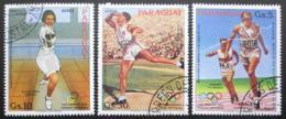 Poštovní známky Paraguay 1983 LOH Los Angeles Mi# 3629-31