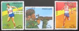 Poštovní známky Paraguay 1984 LOH Los Angeles Mi# 3716-18