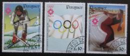 Poštovní známky Paraguay 1984 ZOH Sarajevo Mi# 3733-35