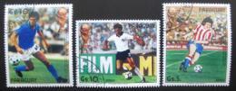 Poštovní známky Paraguay 1985 MS Ve fotbale Mi# 3842-44