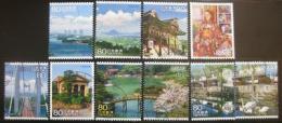 Poštovní známky Japonsko 2010 Scény z cest Mi# 5147-56