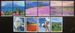 Poštovní známky Japonsko 2011 Scény z cest Mi# 5636-45