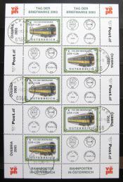 Poštovní známky Rakousko 2003 Den známek, Vlak Mi# 2414 Kat 45€