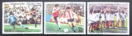 Poštovní známky Paraguay 1986 MS ve fotbale Mi# 3997-99