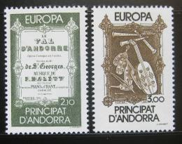 Poštovní známky Andorra Fr. 1985 Evropa CEPT Mi# 360-61