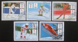 Poštovní známky Paraguay 1989 ZOH Lillehammer Mi# 4323-27