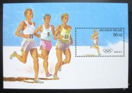 Poštovní známka Belgie 1988 LOH Soul Mi# Block 58