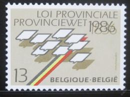 Poštovní známka Belgie 1986 Provinèní zákon Mi# 2283