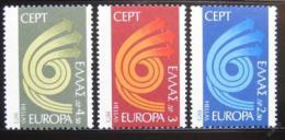 Poštovní známky Øecko 1973 Evropa CEPT Mi# 1147-49