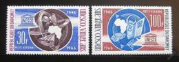 Poštovní známky Dahomey 1966 UNESCO Mi# 290,292