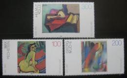 Poštovní známky Nìmecko 1996 Umìní Mi# 1843-45