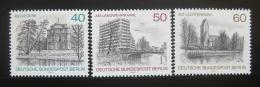 Poštovní známky Západní Berlín 1978 Berlín Mi# 578-80