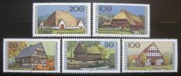 Poštovní známky Nìmecko 1996 Farmy Mi# 1883-87 Kat 8€