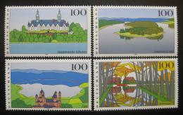 Poštovní známky Nìmecko 1996 Scénické regiony Mi# 1849-52