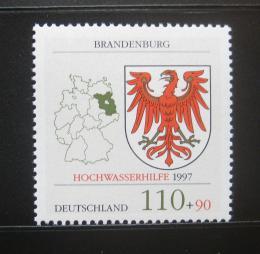 Poštovní známka Nìmecko 1997 Pomoc pøi povodních Mi# 1941
