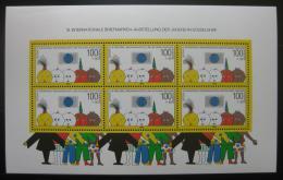Poštovní známka Nìmecko 1990 Dusseldorf Mi# Block 21 Kat 22€