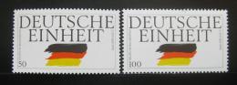Poštovní známky Nìmecko 1990 Znovuspojení Mi# 1477-78