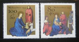 Poštovní známky Nìmecko 1994 Vánoce Mi# 1770-71