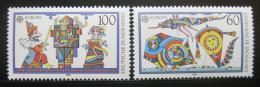 Poštovní známky Nìmecko 1989 Evropa CEPT, Dìtské hry Mi# 1417-18