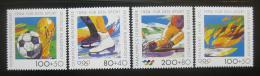 Poštovní známky Nìmecko 1994 Sporty Mi# 1717-20 Kat 13€