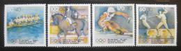 Poštovní známky Nìmecko 1992 Olympijské sporty Mi# 1592-95
