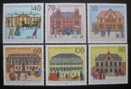 Poštovní známky Nìmecko 1991 Pošty Mi# 1563-68 Kat 11€