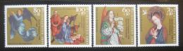 Poštovní známky Nìmecko 1991 Vánoce, umìní Mi# 1578-81