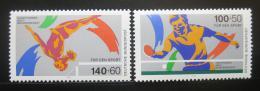 Poštovní známky Nìmecko 1989 Sporty Mi# 1408-09