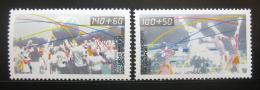 Poštovní známky Nìmecko 1990 Sporty Mi# 1449-50 Kat 7€