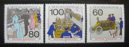 Poštovní známky Nìmecko 1990 Pošta a telekomunikace Mi# 1474-76