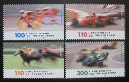 Poštovní známky Nìmecko 1999 Závodní sporty Mi# 2031-34 Kat 10€