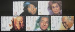 Poštovní známky Nìmecko 2000 Herci Mi# 2143-47