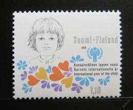 Poštovní známka Finsko 1979 Mezinárodní rok dìtí Mi# 836