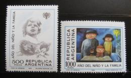 Poštovní známky Argentina 1979 Mezinárodní rok dìtí Mi# 1427-28