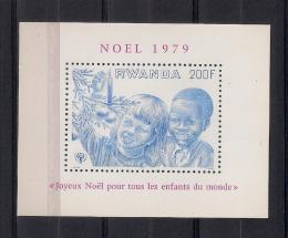 Poštovní známka Rwanda 1979 Mezinárodní rok dìtí Mi# Block 87