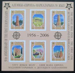 Poštovní známky Kyrgyzstán 2005 Evropa CEPT Mi# Bl 44 B 17€