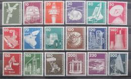 Poštovní známky Nìmecko 1975-78 Prùmysl Mi# 846-59,990-94 Kat 25€