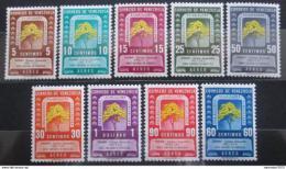 Poštovní známky Venezuela 1950 Národní strom Mi# 572-80 Kat 200€