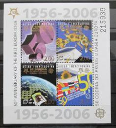 Poštovní známka Bosna 2006 Výroèí Evropa CEPT Mi# Block 7