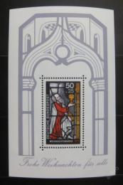Poštovní známka Nìmecko 1977 Vánoce Mi# Block 15