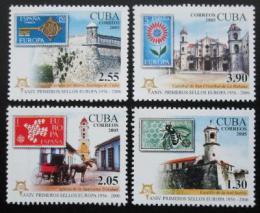 Poštovní známky Kuba 2005 Výroèí Evropa CEPT Mi# 4756-59