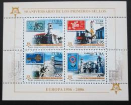 Poštovní známky Kuba 2005 Evropa CEPT Mi# Block 206 A