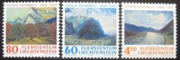 Poštovní známky Lichtenštejnsko 1995 Umìní Mi# 1108-10
