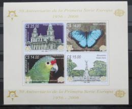Poštovní známky Nikaragua 2005 Evropa CEPT Mi# Bl 329