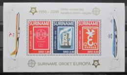 Poštovní známky Surinam 2006 Evropa CEPT Mi# Bl 100